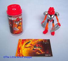 Raro Lego Bionicle 8572 Toa Nuva Tahu en caja y completo con instrucciones