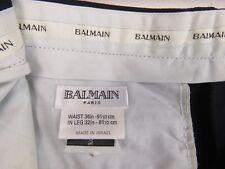 RP1563 BALMAIN Paris pantalon original laine Made in Israel Taille 36/32