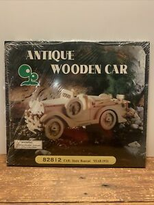 Antique Wooden Car Kit 82812 Car: Stutz Bearcat Year 1931 New Sealed