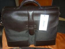 Filofax Savile Large Briefcase braun neu