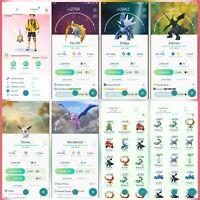 Pokemon Account Go Level 31   8 Shiny (Rare)   41 Legendary (Rare)  6 lV100