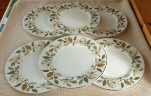 6 WEDGWOOD BEACONSFIELD SIDE PLATES 7 INCH