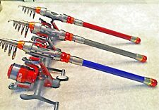 PORTABLE TRAVEL FISHING ROD & REEL HOLIDAY FISHING ROD PACKAGE HOLIDAY CAMPING