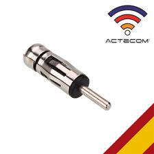 ACTECOM® CONECTOR DE ANTENA DIN/ISO para radio cd