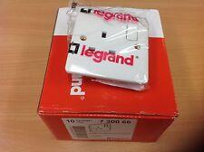 5 x Legrand Plug Socket 1Gang - Synergy 7300 66 Quality Slimline Fitting
