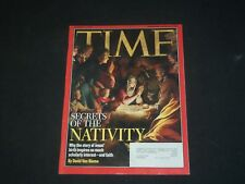 2004 DECEMBER 13 TIME MAGAZINE - SECRETS OF THE NATIVITY - T 3198