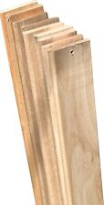 Twin Bed Wooden Slats Replacement Hardwood Bed Mattress Support Slats 13 Count
