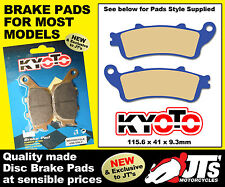 REAR SET DISC BRAKE PADS TO SUIT HONDA NT700 Deauville & ABS V6-VB 06-12 PATTERN