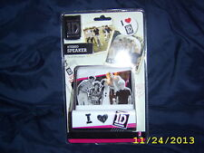 ONE DIRECTION - 1D - STEREO SPEAKERS - FOR ALL MP3 PLAYERS NEW