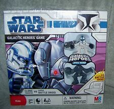 GALACTIC HEROES GAME STAR WARS 2008 CLONE TROOPER VS BATTLE DROID