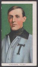 1909 1910 1911 T206 BASEBALL TOBACCO CARD HARRY HINCHMAN HIGH GRADE MISCUT
