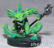 Dungeons & Dragons RPG D&D Mini Figure NO Stat Card SAHUAGIN RANGER # 42