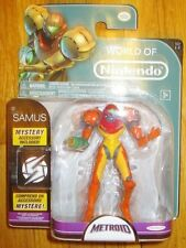 "World of Nintendo SAMUS 4"" Jakks Pacific METROID FIGURE SERIES 1-2"