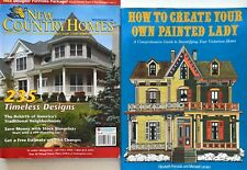 2 Country Homes Books Plans Create Painted Lady Blueprints Designs Floor Economy