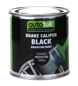 Autotek Black Brush On Brake Caliper Paint [CALBK250] Also For Drums