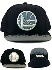 Golden State Warriors New Mitchell & Ness Black Reflective2 Era Snapback Hat Cap