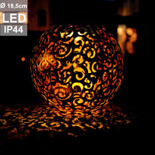 Garten & Terrasse LED Solar Steck Leuchte Mond Sterne Lampe