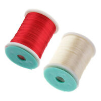 2 Spool Fly Tying DIY Fly Tying Material for Saltwater Flies Hand-made Craft