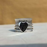 925 Sterling Silver Ring Spinner Ring Meditation Ring Handmade Ring Jewelry A374