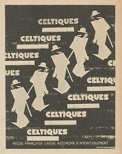 Z9478 Cigarettes CELTIQUES -  Pubblicità d'epoca - 1939 Old advertising