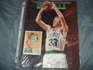 Basketball Beckett November 1992 Issue #28 Larry Bird