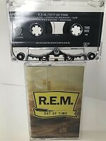 Cassette REM R.E.M. Out of Time TESTED Losing My Religion Warner FREE SHIPPING!