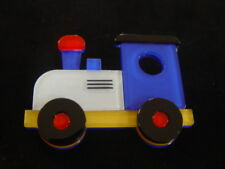 Train Resin Brooch Erstwilder Nostalgia Express