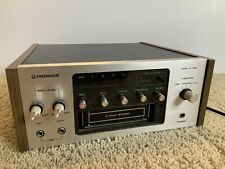 Pioneer 8-Track Cartridge Recorder Player Deck H-R99 Tested
