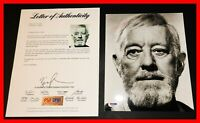 🔥 RARE ALEC GUINNESS SIGNED STAR WARS NEW HOPE AUTOGRAPHED 8X10 Picture PSA JSA