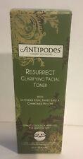 Antipodes Organic Resurrect Facial Toner 100ml W Lavendar Sweet Sage Chamomile