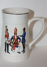 VTG Lord Nelson Pottery The German Guard Mug / Stein Hand-Crafted in England