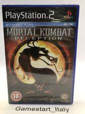 MORTAL KOMBAT DECEPTION - SONY PS2 PLAYSTATION 2 - NEW SEALED PAL VERSION