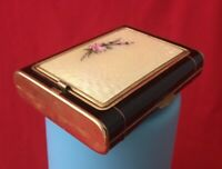 Vintage 'Mayfair' Compact and Cigarrette Case Combo from Evans Case Co.