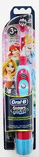 Oral B Braun STAGES POWER Kids Girls Battery Toothbrush Princess NEW