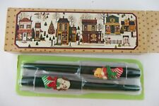 New listing Vintage Set of 2 Stocking Surprise Bayberry Fragranced Taper Candles, New in Box