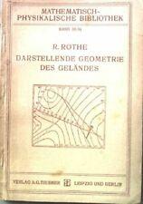 Darstellende Geometrie des Geländes. Mathematisch-physikalische Bibliothek, 35/3