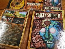 PC Broken Sword II las fuerzas del mal primera edición completo