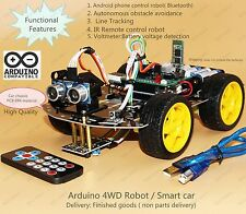 4WD Arduino Smart Car Robot Starter Kit - Programmable Robot