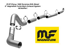 5 IN Magnaflow Turbo Back Exhaust System 01-07 GMC Chevy Duramax 6.6L Diesel