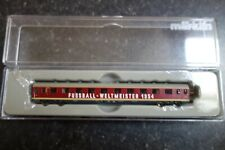 Marklin spur z scale/gauge. German World Cup Winners 1954 Intermediate Car. New.