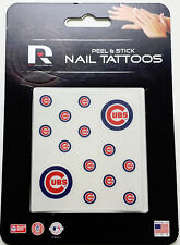Chicago Cubs Peel & Stick Nail Tattoos