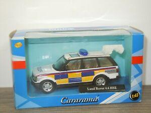 Range Rover 4.6 HSE Police - Cararama 1:43 in Box *43404