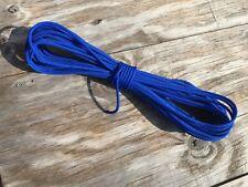 1/4 x 200 ft. Eht Braid Polyester Halter Rope. Marine Blue. Made in Usa.