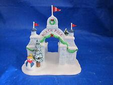 Dept 56 Heritage Village North Pole Gate Christmas 56324