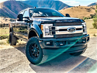 Painted 17-20 Ford F250 F350 Door Handle Covers Color Match Factory Finish