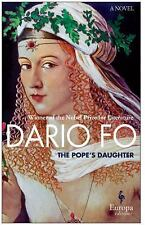 The Pope's Daughter by Dario Fo Trade Paperback Book Free Shipping