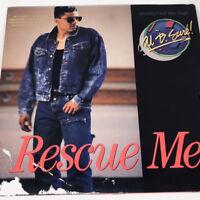 Al B Sure Rescue Me Vinyl Record Original 1988 R&B Soul Funk Rare Promo