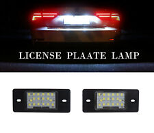 2pcs White LED License Plate Light High Power for Porsche Cayenne 955 957 VW