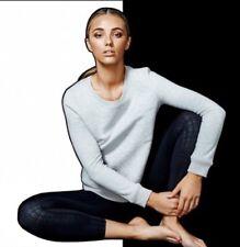 NEW Anthropologie Talbot Avenue Gray Tracker Pullover Sweatshirt Size Large
