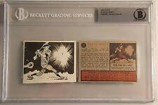 1962 Topps #1 Roger Maris original art Jack Davis BGS encapsulated
